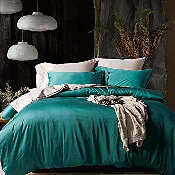 UFO Home 3pc Duvet Cover Set, 600 Thread Count Percale, 100% Egyptian Cotton