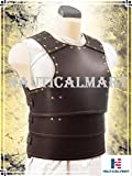 NAUTICALMART Basic Leather Armor LARP, Cosplay, Chest (Brown)