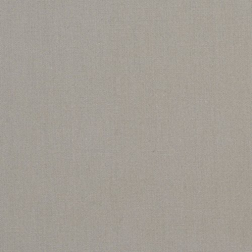A501 Light Grey Solid Woven Cotton Preshrunk Canvas Duck Upholstery Fabric By The Yard (Solid Cotton Upholstery)