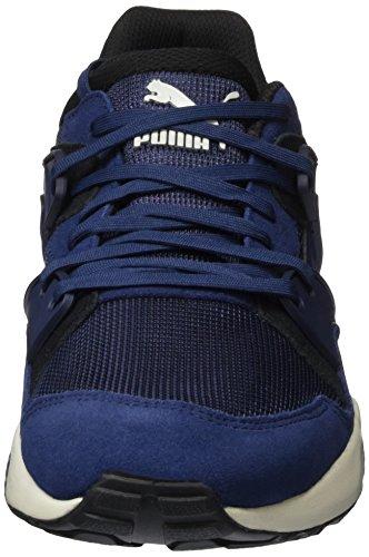 02 Classic Basses Baskets Bleu Puma glacier Mixte Blau Blaze Adulte peacoat Gray RPxn5wn6p