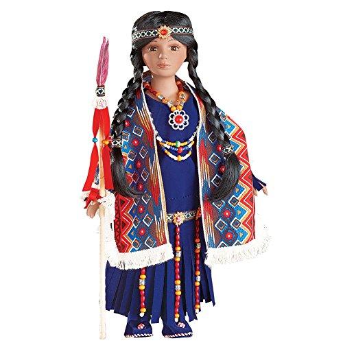 e American Porcelain Collectible Doll ()