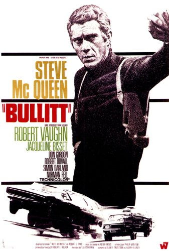 Bullit 27x40 Movie Poster