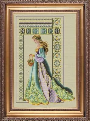 Lace Cross Stitch - Celtic Summer Cross Stitch Pattern