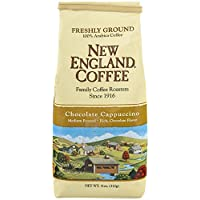 Deals on New England Coffee Chocolate Cappuccino 11 oz.