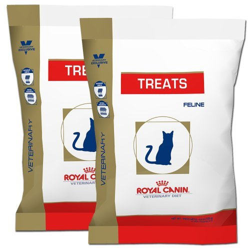 New Larger Packaging Royal Canin Feline Cat Treats 2 Pack ( 2 - 7.7 Ounce Packages) by Royal Canin
