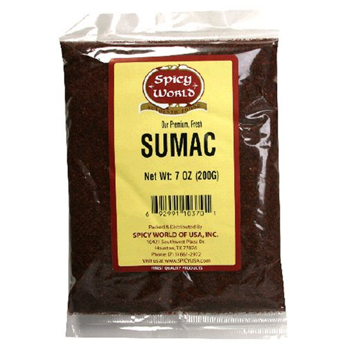 Spicy World Sumac, 7-Ounce Bags (Pack of 6)