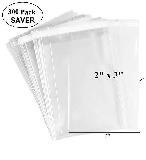 Bolsas adhesivas transparentes de 200 unidades - 1,4 mils de ...