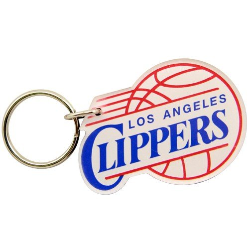 Keychain Nba Basketball (NBA Los Angeles Clippers High Definition Keychain)