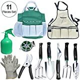 Best Gift Garden Gifts For A Men - Auelife 11 Pieces Garden Tools Set –Gardening Tools Review