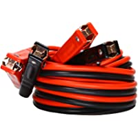Jumper Cables 4 Gauge x 20 Ft 500A Heavy Duty Booster Cables with Carry Bag (4AWG x 20Ft)