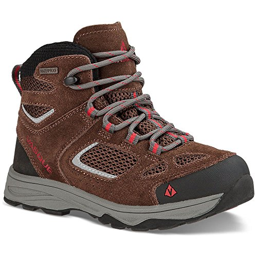 Vasque Breeze III UltraDry Hiking Boot - Youth-Slate Brown/Chili Pepper-6 07208M (Vasque Mountain Boot)
