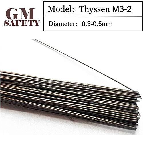 Jammas Laser Welding Thyssen M3-2 Welding wires for Welders (0.3/0.4/0.5mm) T012130