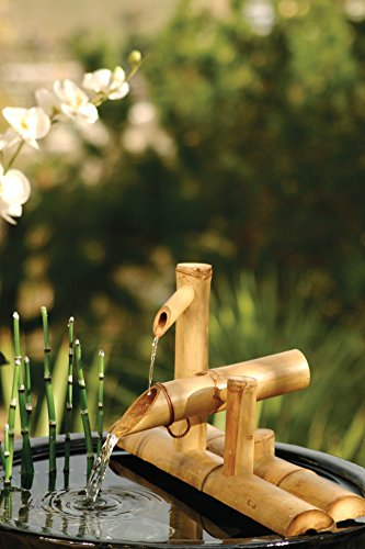 Bamboo-Accents-Zen-Garden-Water-Fountain-Spout-75-Inch-Shishi-Odoshi-Rocking-Includes-Submersible-Pump-Kit