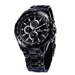 SWISSTYLE Analogue Black Dial Men Watch SS-GR198-BLK-CH