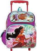 "Disney Princess Elena of Avalor Toddler Mini 12"" Rolling Backpack"