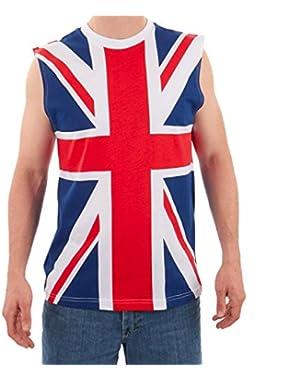 Men's British Flag Tank Multicolor