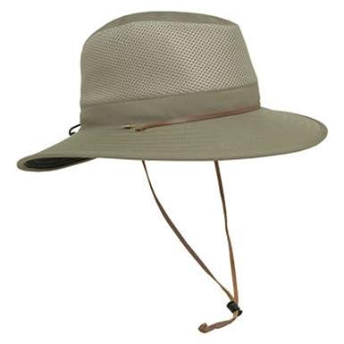 cef319636a180 Solar Escape Outback Men s UV Protection Hat-Olive at Amazon Men s ...