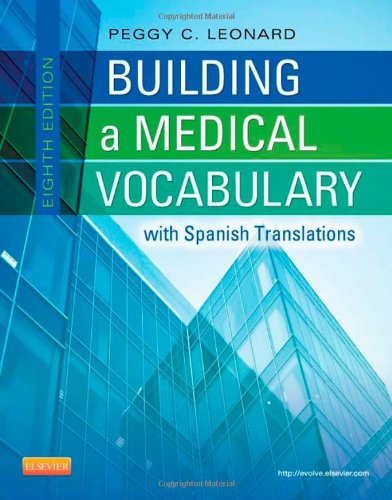 building a medical vocabulary Professional medical textbooks for the medical, dental, veterinary, nursing, and other health professional fields free ups shipping on all orders.
