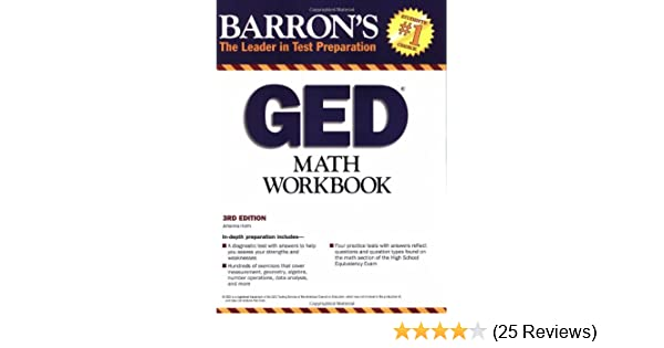 Ged math workbook barrons the leader in test preparation ged math workbook barrons the leader in test preparation johanna holm 9780764142062 amazon books fandeluxe Images