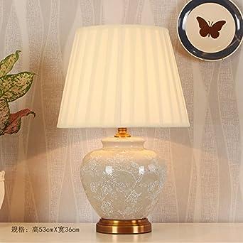 Sdkir Im Amerikanischen Stil Gemalde Kupfer Keramik Lampe