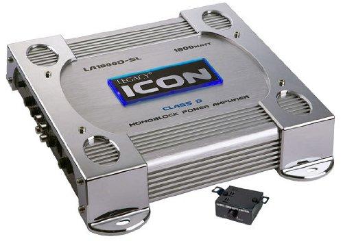 Legacy LA1800DSL 1800 Watt Mono-Block Class-D Amplifier (Silver)