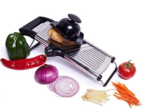 Affettatrice Mandolina Regolabile della Chef's INSPIRATIONS. Perfetta per Affettare Cibo, Frutta e Verdura. Affettatrice… 3