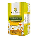 Organic Chamomile Tea - (4 Pack) 22 Count Tea Bags - Certified Organic by EU Agriculture