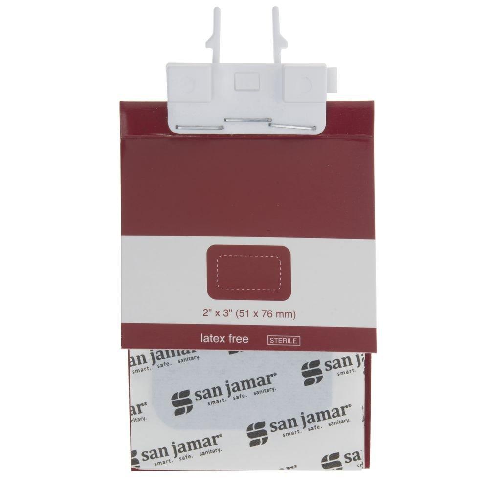 Amazon.com: San Jamar Mani-Kare Latex-Free Blue Patch ...
