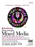 Strathmore (584-9 500 Series Heavyweight Mixed Media, 9''x12'', 12 Sheets