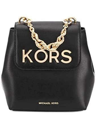 dece58db19 Amazon.com | Michael By Michael Kors Women's 30H8goxb0l001 Black Leather  Backpack | Casual Daypacks