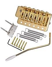 D DOLITY Tremolo Bridge zadels met schroeven voor ST SQ elektrische gitaar onderdelen accessoires goud