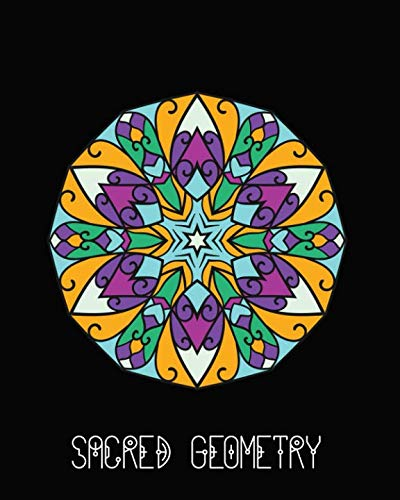 Sacred Geometry: Stain Glass Window Mandala Art Journal Cover , Cornell Lined Notebook . Geometric Design for Yoga, Meditation , Dream Diary or Notes for Work or ()