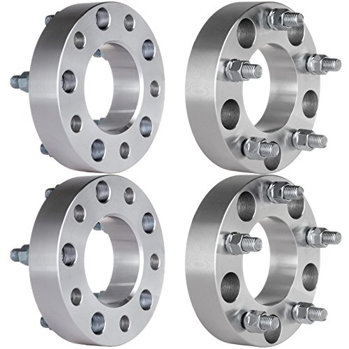 ECCPP Wheel Spacers 4PCS 5Lug 1.5'' Thick 5x135 to 5x135 1998 1999 2000 2001 2002 Ford Expedition F-150 Lincoln Navigator Wheel Spacer 14x2 Studs by ECCPP (Image #2)'