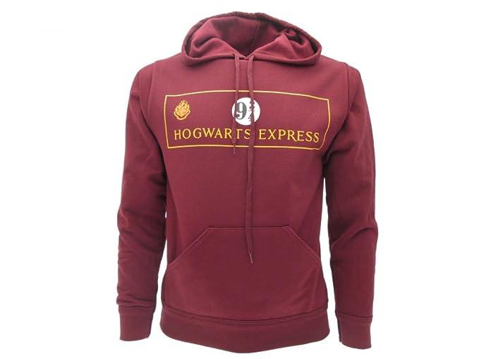 Sudadera con Capucha Hoodie Plataforma 9 3/4 Hogwarts Express de Harry Potter - 100% Oficial Warner Bros ESuIJSd