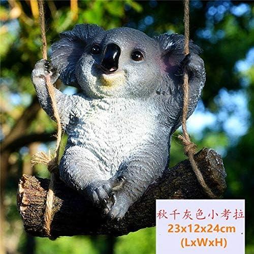 LVA Esculturas de jardín 1 Pieza de simulación de Osito de Koala con Figuras de Animales para decoración de jardín, 003: Amazon.es: Jardín