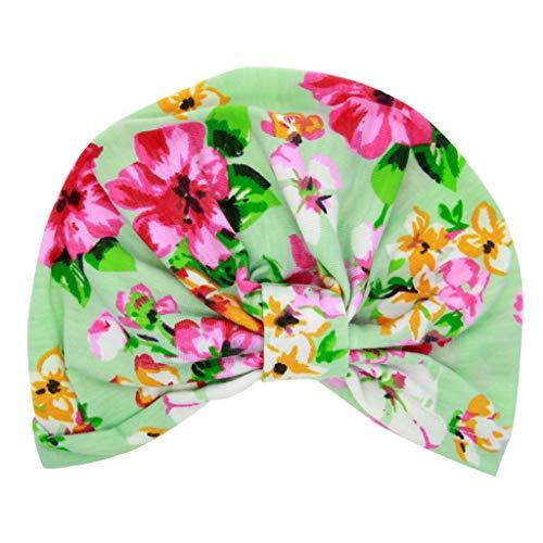 arf pleated macrame hat baby children colorful elastic cap headband MEEYA ()