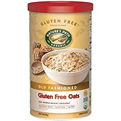 Nature's Path Organic Gluten-Free Oats, Old Fashioned, 18 Ounce Canister (Pack of 6)