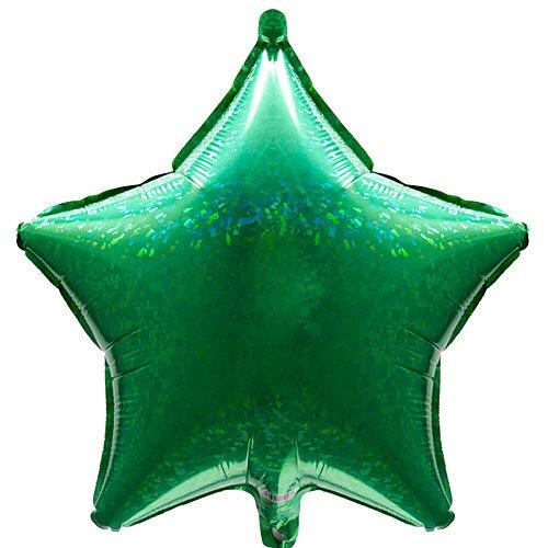 Back Tie Burton (Holographic Green Star Shaped Shiny 21