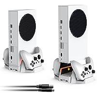 TwiHill A Base De Resfriamento Do Console é Adequada Para Xbox Series S, Carregador De Bateria Dupla, Suporte De Base Do…
