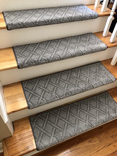 Galleon - (Sold Each) ChapsTreads Soft Nylon Stain Resistant Carpet Stair Tread Runner Replacement Dog Cat Pet Style Comfort Safety