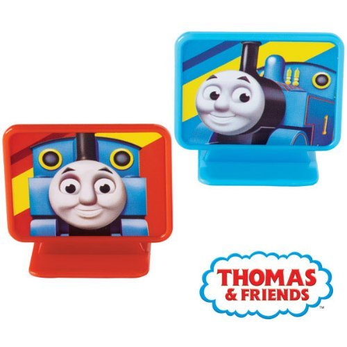 8 pc Thomas the Tank Engine Cupcake Toppers]()