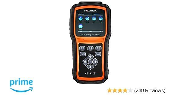 Amazon Com Foxwell Nt630 Elite Obd2 Scanner Abs Srs Code Reader