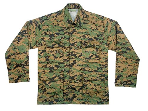 Uf Bdu Shirt - Woodland Digital/Camo/size L(41