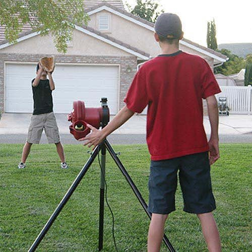 Heater Sports Baseball Pitching Machine for Kids Teens Includes Automatic Ballfeeder and Adults