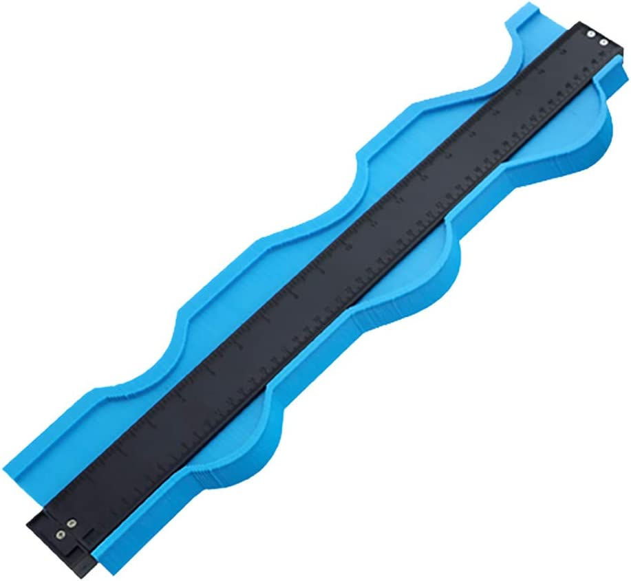 per piastrelle in ceramica in plastica ABS tavole misuratore di contorno ToDIDAF tappeti duplicatore di profili 50,8 cm