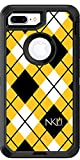 Northern Kentucky Argyle design on Black OtterBox Defender for iPhone 8 Plus