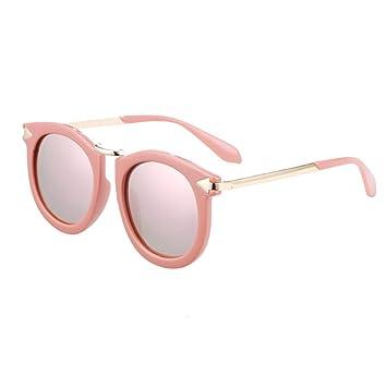 Pequeño árbol Gafas de sol Niños Moda Rosa Chicas Gafas de sol Vacaciones Viajes Gafas al