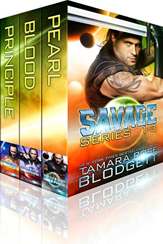 The Savage Series Boxed Set (Books 1-3): New Adult Dark Paranormal / Sci-fi Romance by [Blodgett, Tamara Rose]