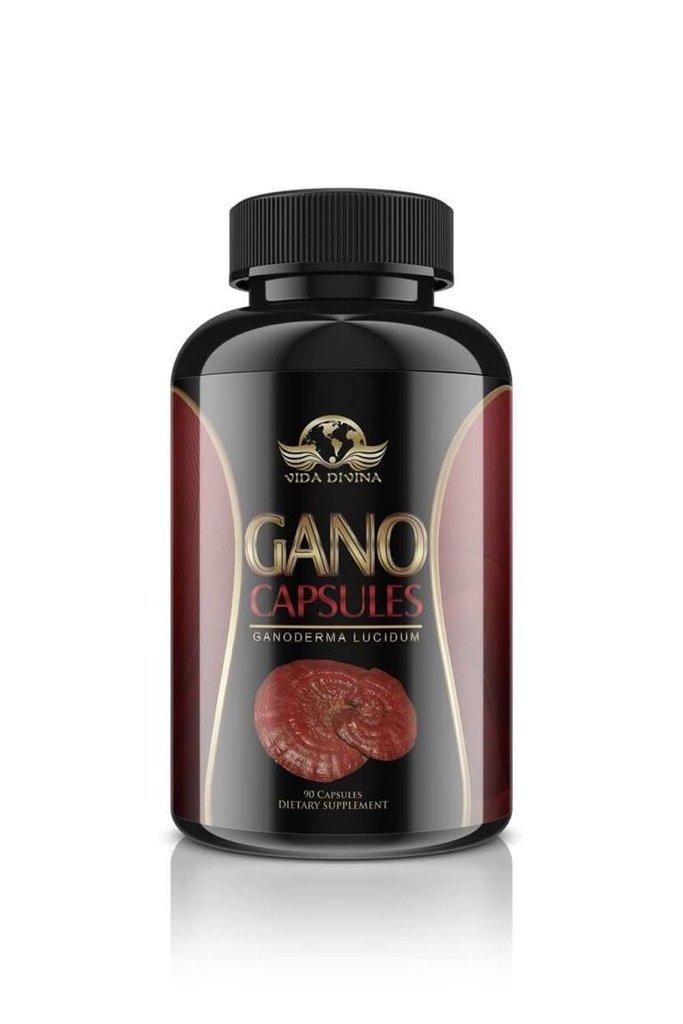 King of Herbs,Vidadivina's Popular'' Gano'' 90 Capsules 500 MG by vida divina gano capsules