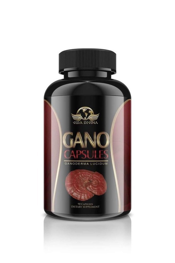 King of Herbs,Vidadivina's Popular'' Gano'' 90 Capsules 500 MG